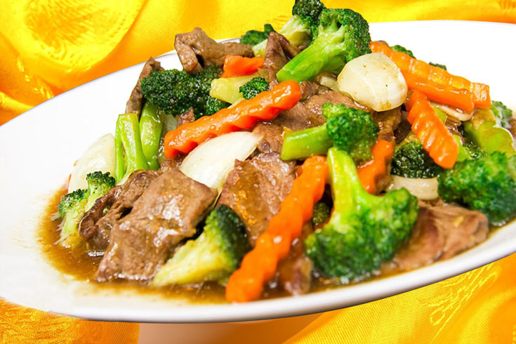 32. Beef with Broccoli